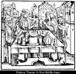 Making Theriac in the Middle Ages